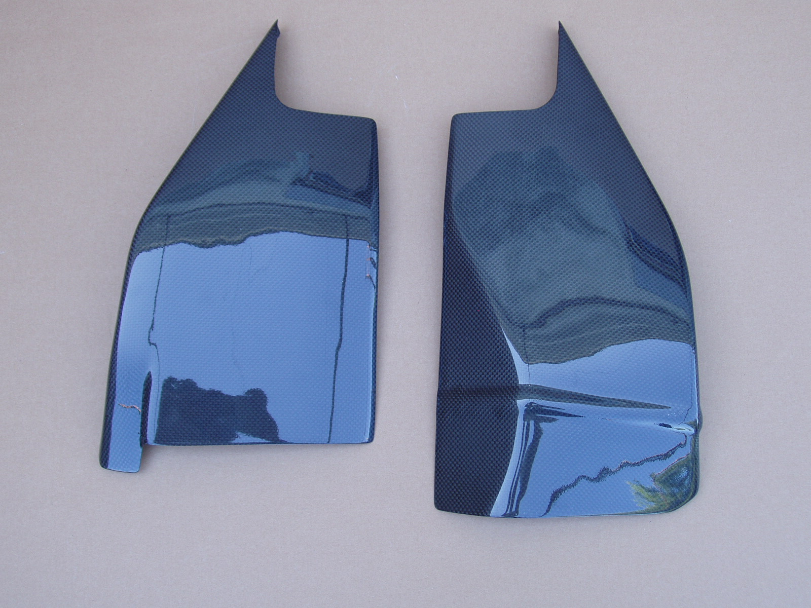 Swing arm covers GSXR1000 K5