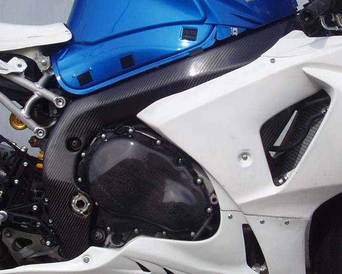 Carbon Swing arm cover GSX-R1000 K9