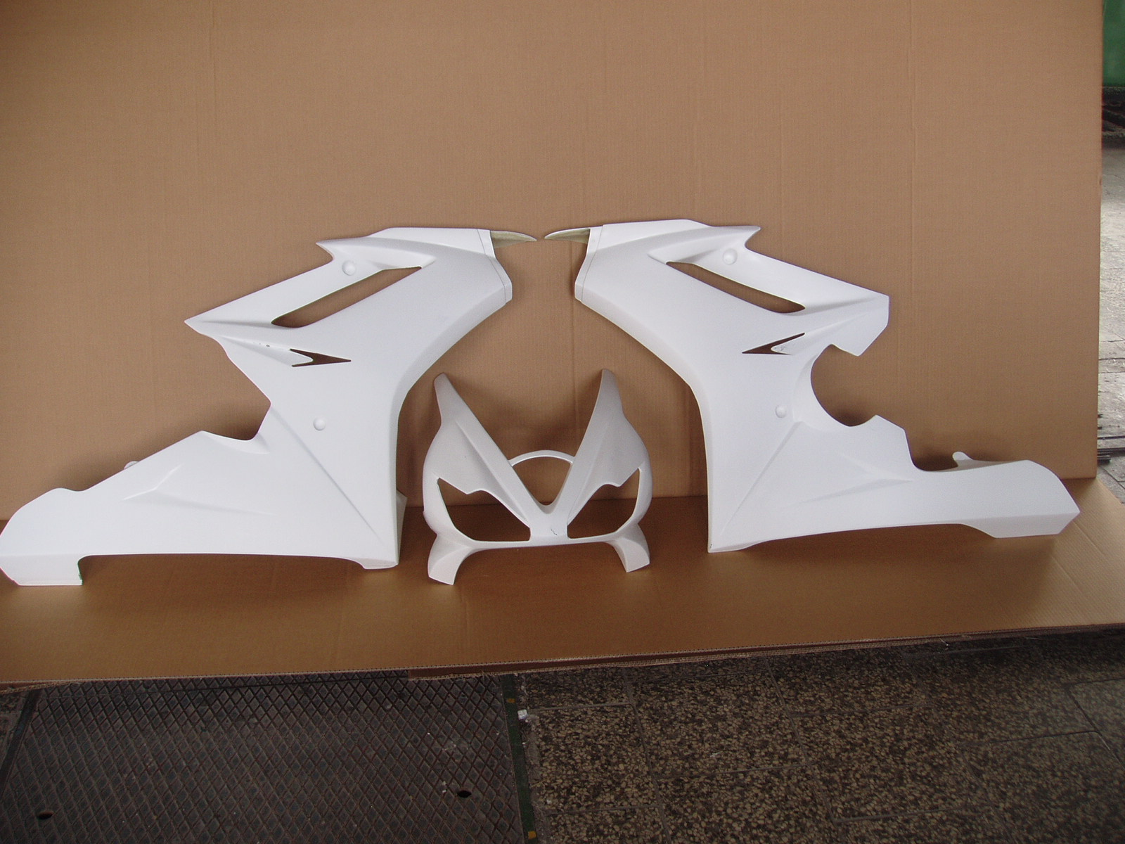 Front fairing for TRIUMPH DAYTONA 675