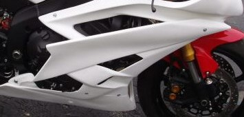 Side panels for Yamaha R6 2006-2007